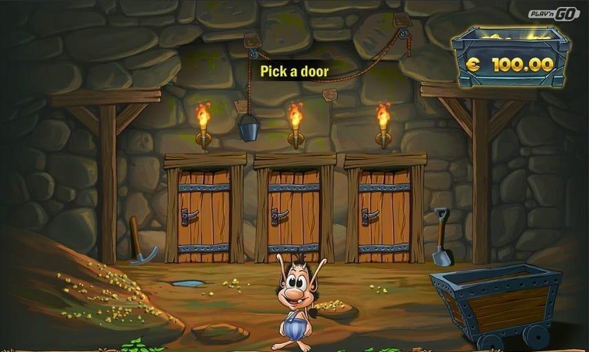 I bonusspelet tar du dig igenom en gruva