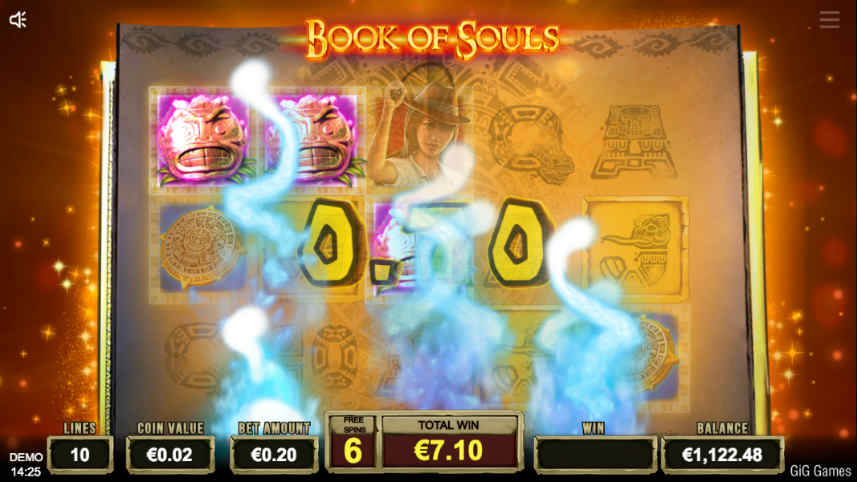 Book of souls slot online