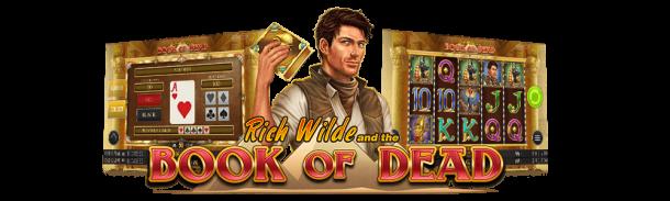 Book of Dead ger dig många bonusar