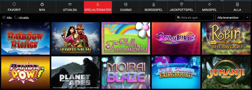 online slot casinospel