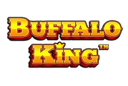 Logotyp tillhörande casinospelet Buffalo King