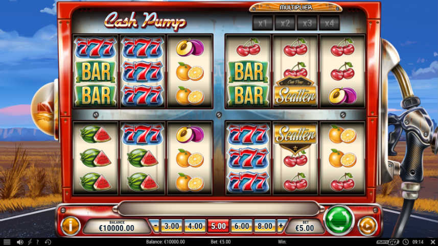 casinospelet Cash Pump från Play N GO