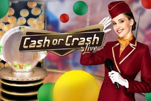 Cash or Crash - Ny storsatning från Evolution Gaming