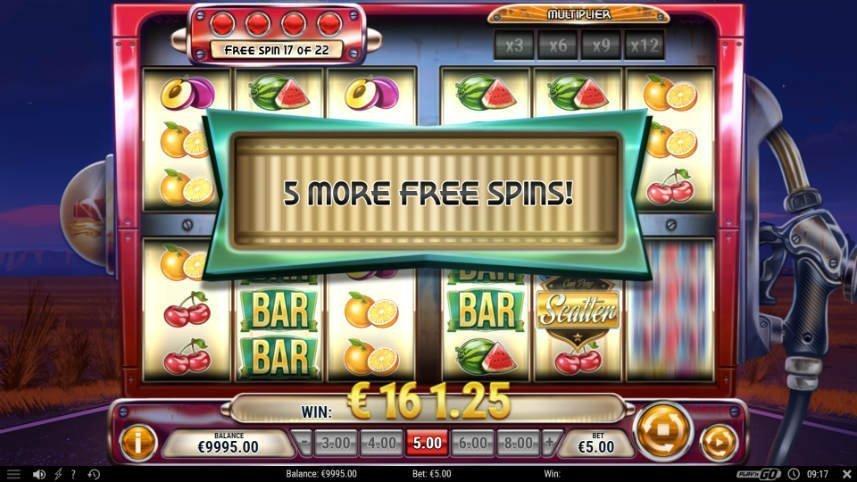 frispel i online slot cash pump