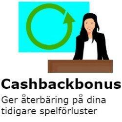 cashback bonus på casino