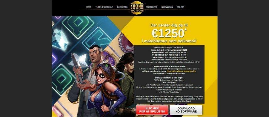 nätcasinot Casino Action