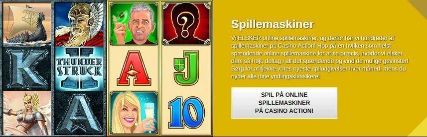 casinospel på det danska online casinot casinoaction.dk
