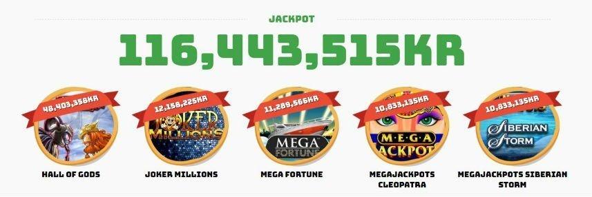 casino calzone jackpots