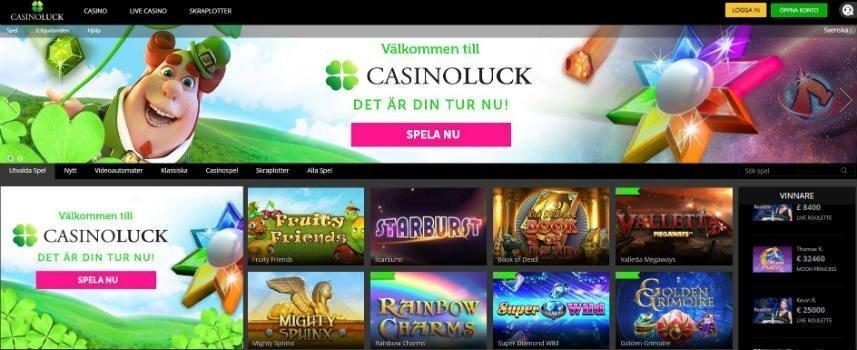 CasinoLuck games