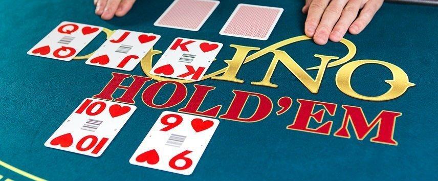 Evolution kan stoltsera med ett flertal olika poker spel