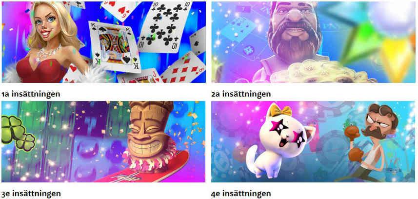 välkomstbonus casinobonus
