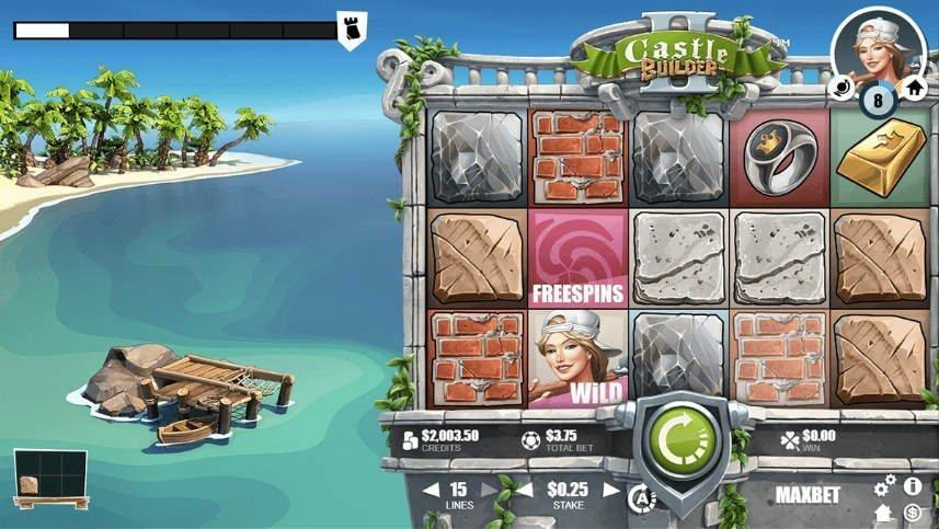 basspelet i online slotten Castle Builders 2