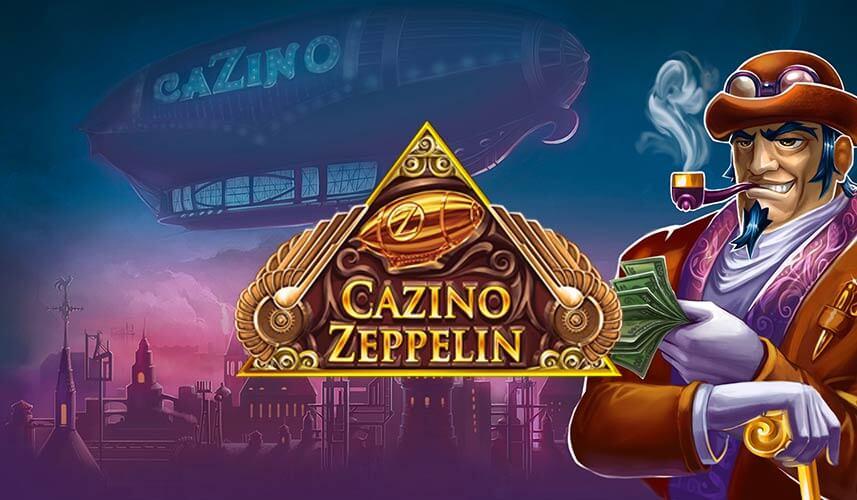 Cazino Zeppelin slots - Spela det här spelet gratis online