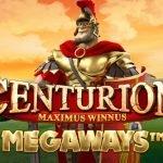 logotyp från centurion megaways
