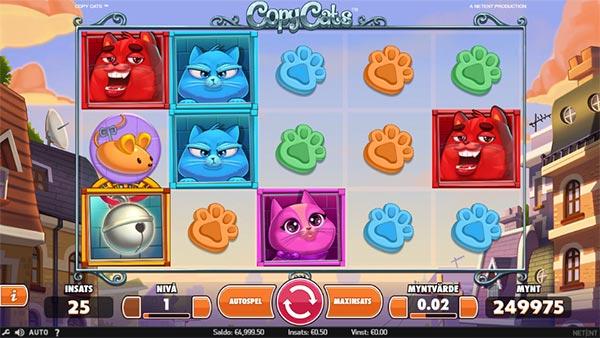 Copy Cats spelautomat