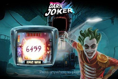 bild från casinospelet Dark Joker