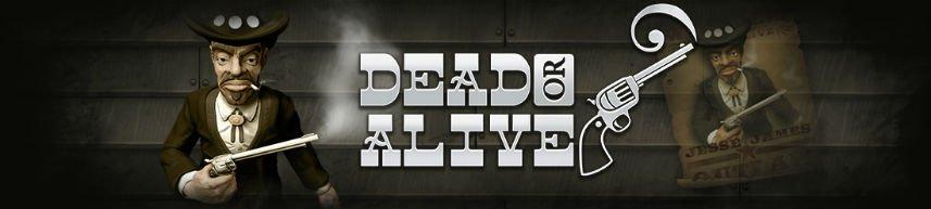 Dead or Alive slot banner