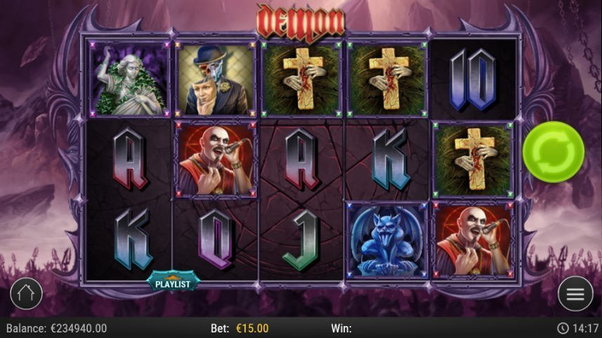 online slot demon från play'n go