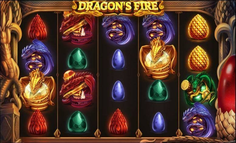 Casinospelet Dragons Fire från Red Tiger Gaming