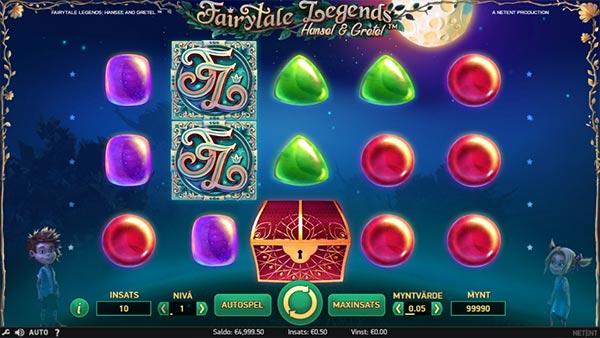 Fairytale Legends: Hansel and Gretel spelautomat