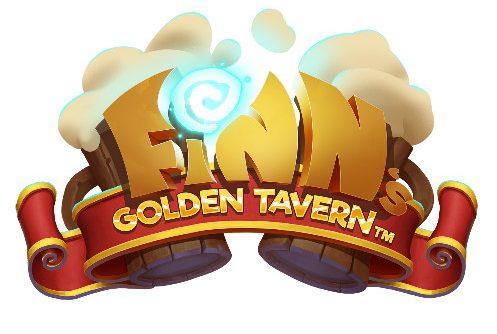 Logotyp tillhörande casinospelet Finns Golden Tavern.