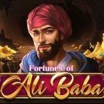 logotyp för fortunes of Ali Baba