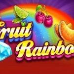 logotyp från rainbow fruits