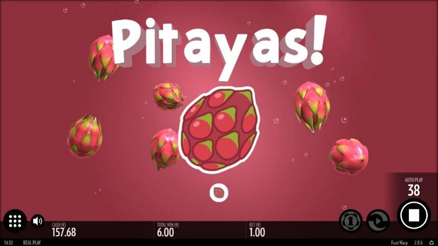 bonusspel i casinospelet Fruit Warp