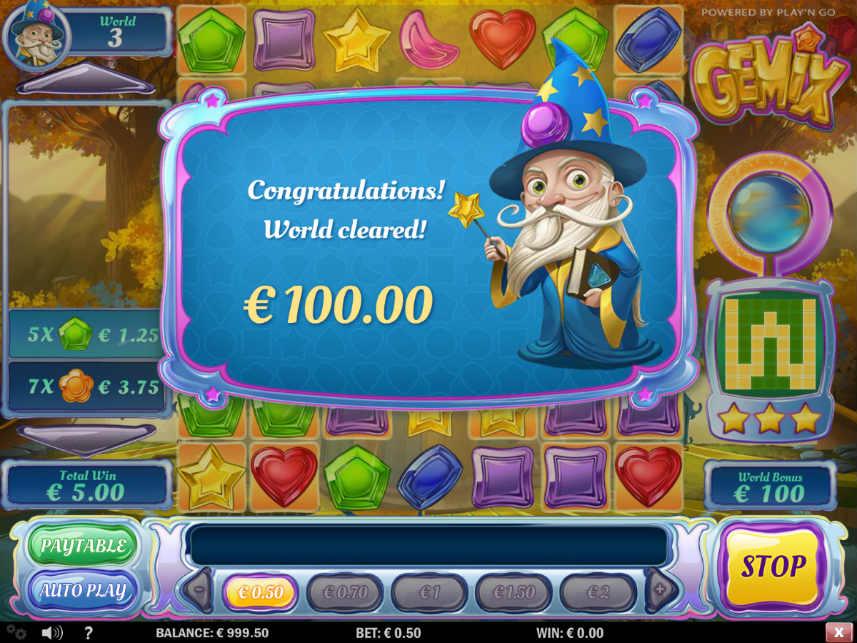 Trollkarlen är en karaktär från casinospelet Gemix, utvecklat av Play n'GO