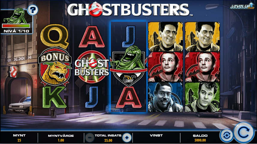 Ghostbusters Plus online slot från IGT
