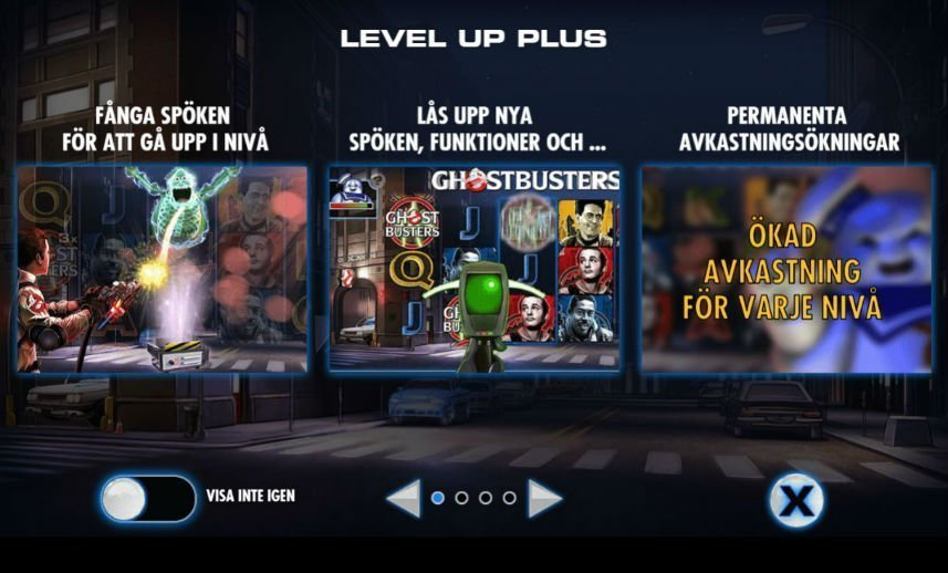 Funktioner i Ghostbusters Plus