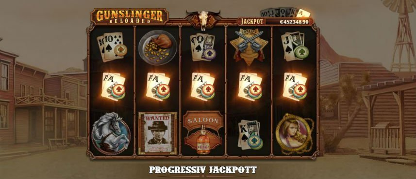 gunslinger reloaded jackpott