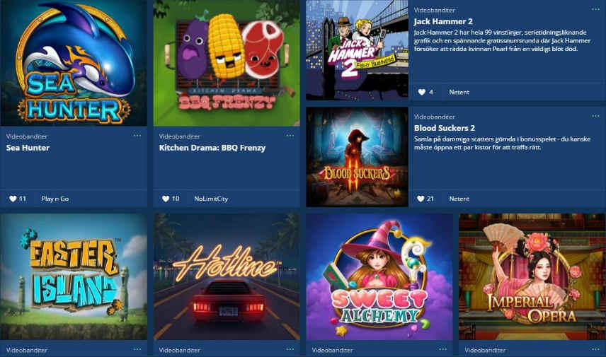 casinospel onlinespel
