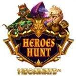 Logotyp för casinospelet heroes hunt megaways