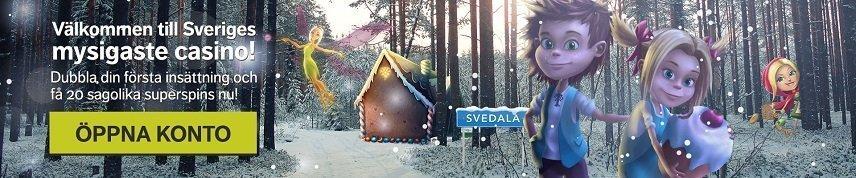 Svedala är ett svensk casino med bra erbjudanden