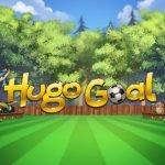Logotyp och grafik från Play'N GOs Hugo Goal