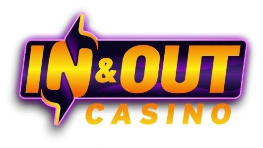Logotyp tillhörande online casinot InAndOutBet