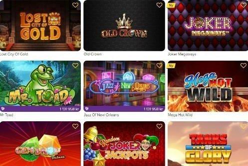 Vi bekantar oss med Jalla Casinos exklusiva spel
