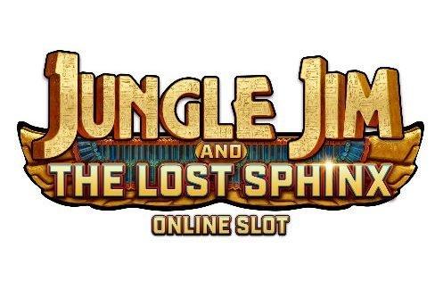 Logotyp från Casinospelet Jungle Jim And The Lost Sphynx