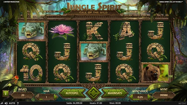 jungle Spirit: Call of the Wild spelautomat