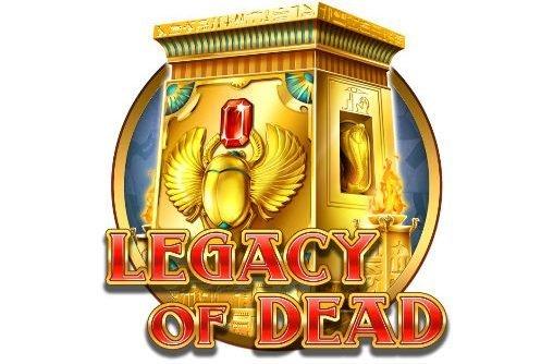 Logotyp tillhörande casinospelet Legacy of Dead