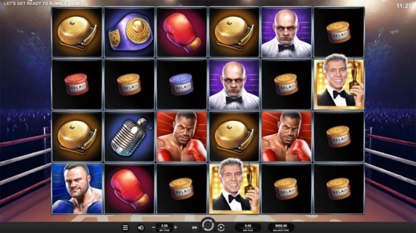 spelautomaten Lets Get Ready To Rumble från spelutvecklaren Relax Gaming