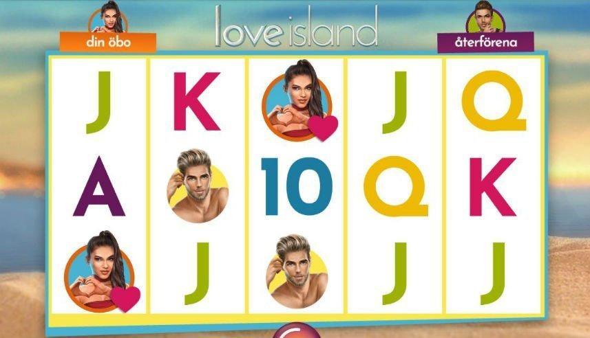 Symboler i Love Island slot