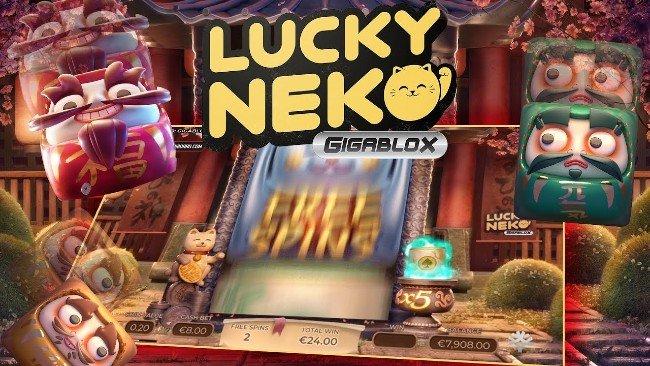 Lucky Neko Gigablox online slot