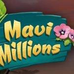 logotyp från maui millions