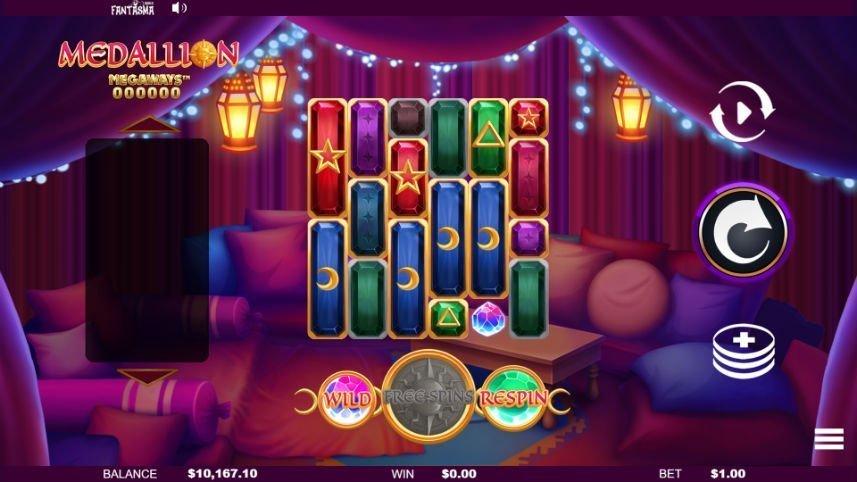 Online slot Medallion Megaways från Fantasma