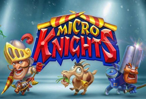 Grafik från casinospelet Micro Knights