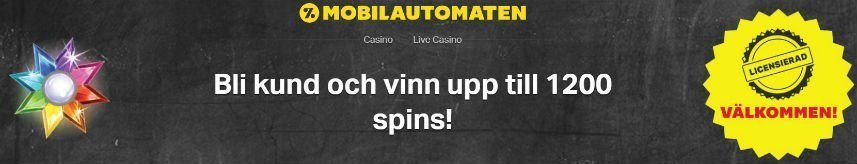 mobilautomaten casino welcome offer