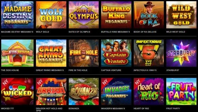 Mr Vegas online slots och spelautomater