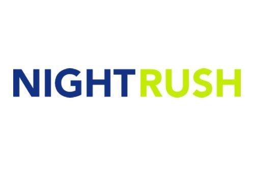 logotyp för nätcasinot nightrush